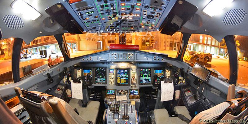 Cabina ATR 72 - Curso Transición a Aerolínea Fast Track Aviation